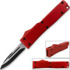 Electrifying California Legal OTF Dual Action Knife Red