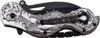 Dark Side Blades Chopper Spring Assisted Biker Knife Demonic Ballistic Series Black