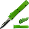 Electrifying California Legal OTF Dual Action Knife (Green)