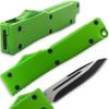 Electrifying California Legal OTF Dual Action Knife (Green)