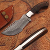 Custom Made Damascus Tracker Knife Limited Edition