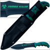 Zombie Outbreak Response Team Knife Hybrid Extreme Full Tang 12.5in Survival EDC