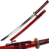 Kenpo Full Tang Blood Lust Katana 1045 HC Steel Japanese Samurai Sword Functional