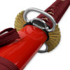 Kenpo Full Tang Blood Lust Katana 1045 HC Steel Japanese Samurai Sword Functional