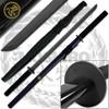 MOSHIRO Full Tang Koga Ninja Handmade Straitblade Katana Japanese Sword