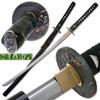 Bushido Musashi - Kyuba no michi Full Tang Sword - Black Saya