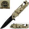US Rangers Helicopter Tactical Folding Knife