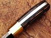 White Deer Custom Made Damascus Steel  Exotic Wood handle Buffalo Skinner