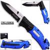 TAC Force Police Rescue Flashlight Pocket Knife