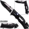 TAC Force Sheriff Rescue Flashlight Pocket Knife