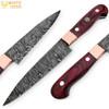 White Deer Pakkawood Paring Knife Pro Chef Cutlery