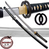 Moshiro Clay Tempered 1060 High Carbon Steel Katana Best Miyamoto Certified RfB Sword