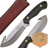 Case of 6pcs WHITE DEER Guthook Ranger Series J2 Steel Skinner Knife Micarta + Wood Grips