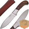 Case of 6pcs WHITE DEER Full Tang J2 Steel Tactical Knife Operators Hardwood Grip Drop Point