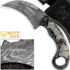 WHITE DEER Champion Karambit Knife Magnum