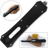 Tanto Double Action Out The Front Auto Knives Black