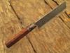 1095 Forged Steel Usuba Bocho Knife Kanto Japanese Chef Cleaver Cutlery