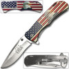 American Eagle Head Spring Assassinated Knife
