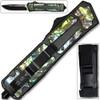 Black Hills Black OTF Knife W/Glass Breaker