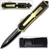 Titan OTF Originator Gold Serrated Knife