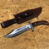 San Mai White Deer Damascus Steel  Bowie Knife
