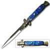 Swift Blue Milano Stiletto Auto Knife