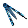 Swift Blue Balisong  Butterfly Knife