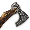 Hand Forge Line Head Etched Axe D-2 Steel