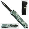 Delta Force OTF Out The Front Automatic Dual Side Serrated Knife
