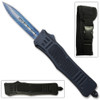 Delta Lightening Blue OTF Out The Front Automatic Double Edge Spear Point Knife