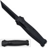 Legends Micro OTF Stiletto Blade Knife Black Out The Front Tanto Blade
