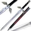 Legend of Zelda FULL TANG Dark Link Skyward Black & Red Limited Edition Deluxe Replica