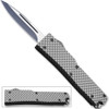 Electrifying California Legal OTF Dual Action Knife Carbon Fiber Handle