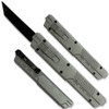 Legends Micro OTF Tanto Blade Knife Grey Handle Out The Front Switch