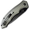 Delta Automatic Knife Gray Aluminum Handle