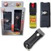 BLACK SELF DEFENSE COMBO (STUN GUN / PEPPER SPRAY