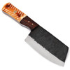 1095 Forged Steel Camel Bone/Cocobolo Wood  Handle Classic Butcher's Japanese Cleaver