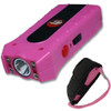 Pink Duo Max Power Stun Gun Double Shock With Removable Safety Pin