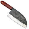 Teuchi Serbian Chef's Knife 1095 Forged High Carbon Steel Coco bola Handle