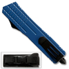 Blue Spear Point OTF Out The Front Assisted Open Tactical Glass Breaker Blue Handle