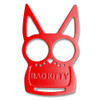 Red Bad Kitty Iron Fist Knuckleduster