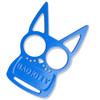 Blue Bad Kitty Iron Fist Knuckleduster