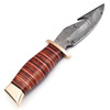 Damascus Steel Outback  Skinner  & Gut Hook Limited Edition