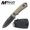 "MTech USA MT-20-30 NECK KNIFE 4.75"" OVERALL"