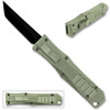 Legends Micro OTF Blade Knife Gray Out The Front Tanto Blade