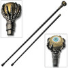 Eyeball Walking Cane Sword With Aluminum Alloy Claw