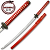 MOSHIRO 1045 STEEL Steel Hand Forge Red Scabbard