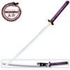 MOSHIRO 1095 High Carbon Steel White Glossy Scabbard