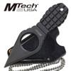 "MTech USA MT-588BK BLACK NECK KNIFE 4.25"" OVERALL"