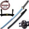 MOSHIRO 1045 High Carbon Steel Blue Blade  Katana Sword